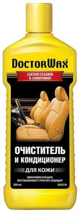 Очиститель для кожи Doctor Wax LEATHER CLEANER & CONDITIONER 300мл DW5210