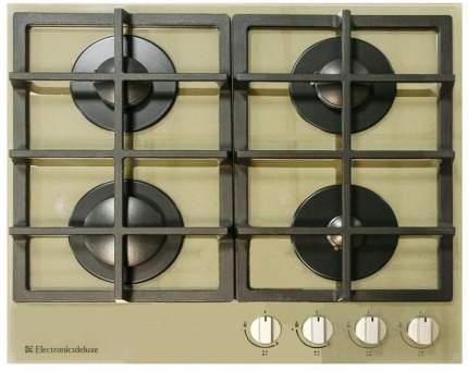 Встраиваемая варочная панель газовая Electronicsdeluxe GG4 750229 F-020 Gold