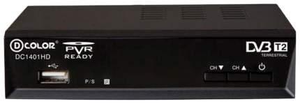 DVB-T2 приставка D-Color DC1401HD HDMI Black