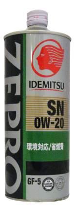 Моторное масло Idemitsu Zepro Eco Medalist SN/GF-5 0W-20 1л