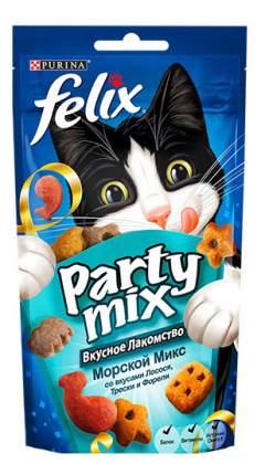 Лакомство для кошек FELIX Party mix Морской Микс, 60г