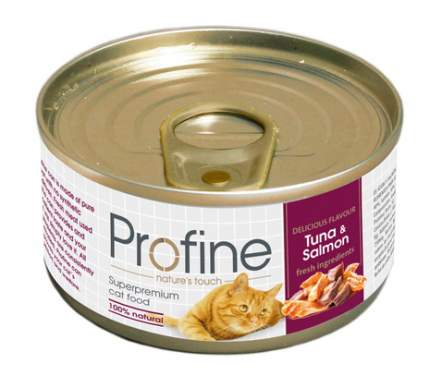 Консервы для кошек Profine Tuna & Salmon, тунец и лосось, 70г