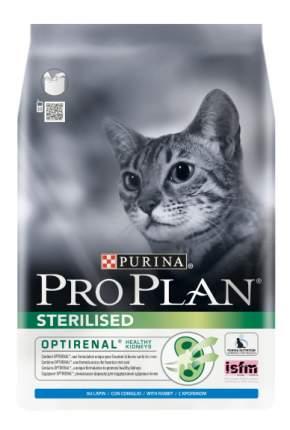 Сухой корм для кошек PRO PLAN Sterilised, для стерилизованных, кролик, 1,5кг