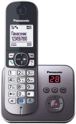 Телефон DECT KX-TG6821RUM серый