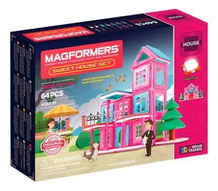Конструктор Magformers магнитный Sweet House 64 детали