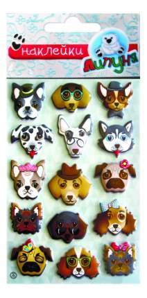 Наклейка декоративная для детской комнаты Липуня Собаки
