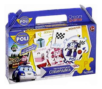 Семейная настольная игра Origami Robocar Poli Собирайка