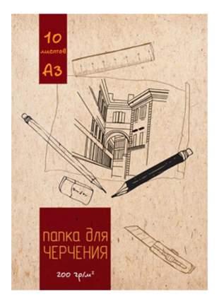 Папка для рисования Kroyter Город 10 шт.