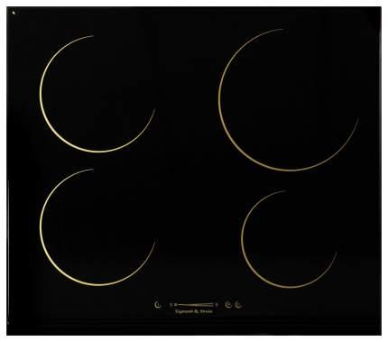 Встраиваемая варочная панель индукционная Zigmund & Shtain CIS 162.60 DK Black