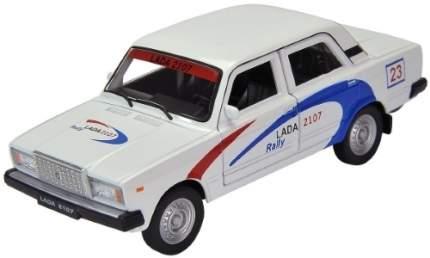 Модель машины Welly Lada 2107. Rally 1:34