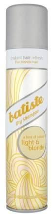 Сухой шампунь BATISTE Light Brilliant Blonde, 200 мл
