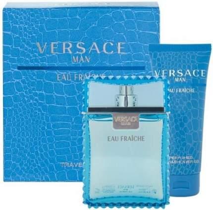 Подарочный набор VERSACE Eau Fraiche: Туалетная вода, 30 мл + гель для душа, 50 мл