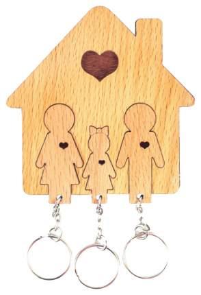 "Ключница Mimi ""семья с дочерью"""