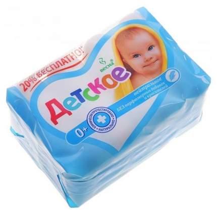 Косметическое детское мыло Весна нейтральное 4 шт