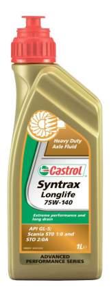 Трансмиссионное масло Castrol Syntrax Longlife 75w140 1л 1543AE
