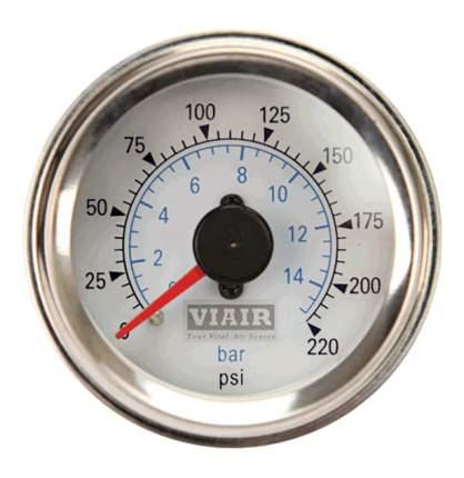Манометр VIAIR 90081 до 15 атм