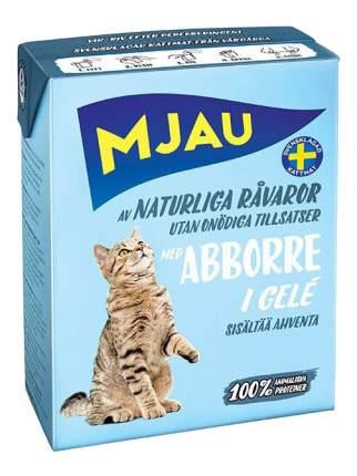 Влажный корм для кошек Mjau, рыба, 380г