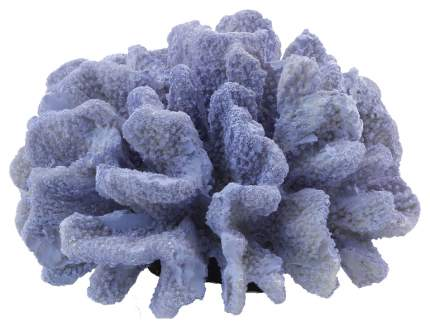 Искусственный коралл Laguna Пектиния, фиолетовый, 18.5х11х17.5 см