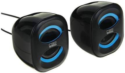 Колонки компьютерные CBR CMS 333 Синий/Черный