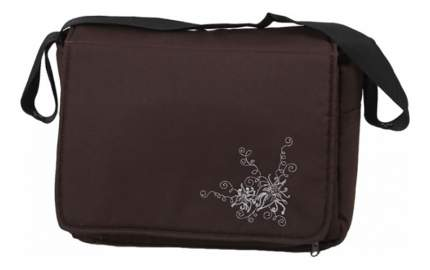Дорожная сумка для коляски Лео Алиса с матрасиком Темно-коричневый