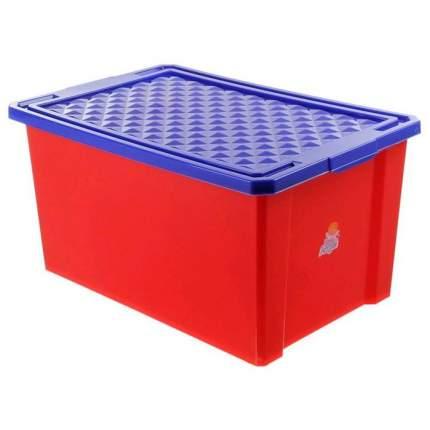 Ящик для хранения игрушек Plastic Republic Little Angel Лего красный