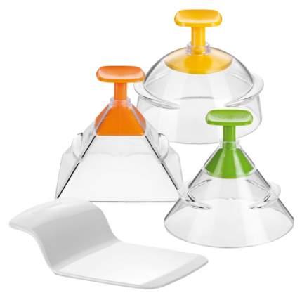 Формочки для придания продуктам 3D-формы PRESTO FoodStyle, 3шт