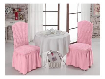 Чехол на стул KARNA Bet светло-розовый