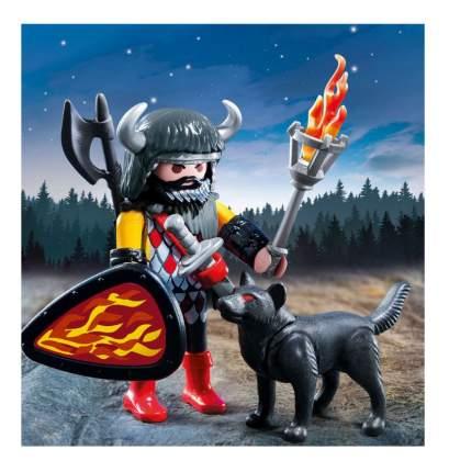 Игровой набор Playmobil PLAYMOBIL Экстра-набор: Воин Волка