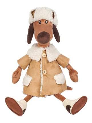 Мягкая игрушка Maxitoys Пес Ипполит в Дубленке, 28 см