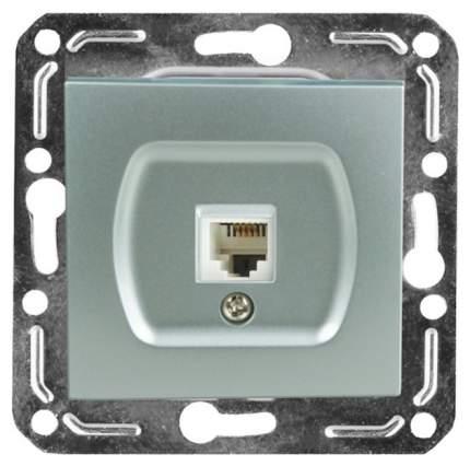 Розетка компьютерная одноместная Volsten V01-15-C11-M