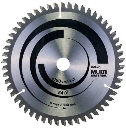 Диск по дереву Bosch STD MM 190x20-54T 2608640508