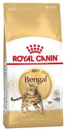 Сухой корм для кошек ROYAL CANIN Bengal Adult, бенгальская, домашняя птица, 0,4кг