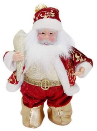 Кукла декоративная Новогодняя сказка Дед Мороз 13 см, 972430