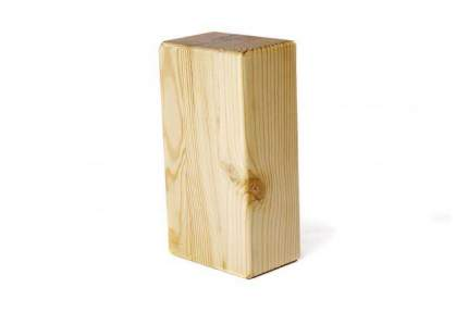Кирпич для йоги RamaYoga премиум лакированный в глазури 515633