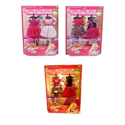 Набор из 2 платьев с аксессуарами для куклы angena 2945A-46 Shantou Gepai