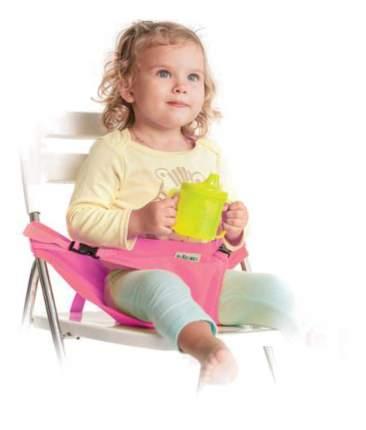 Вкладыш для стульчика Жирафики Портативный стульчик чехол розовый
