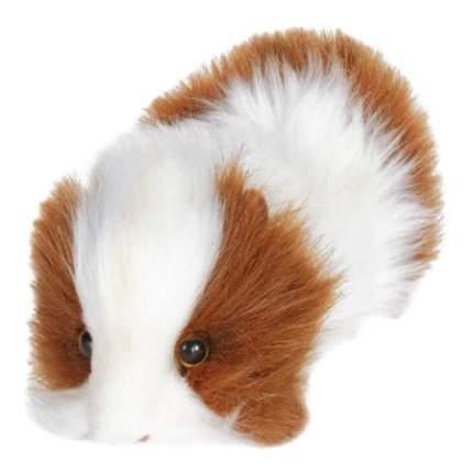 Мягкая игрушка Hansa Морская Свинка 3735 20 см белый коричневый