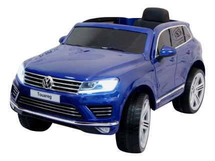 Электромобиль Volkswagen Touareg синий глянец RIVERTOYS