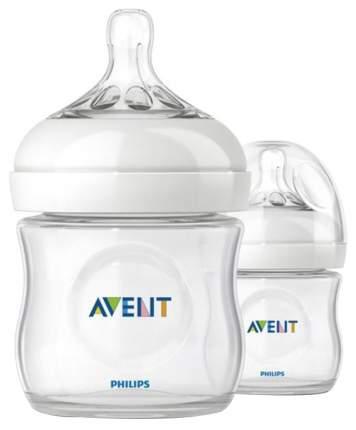 Набор бутылочек Philips Avent Natural для кормления 125 мл, 2 шт