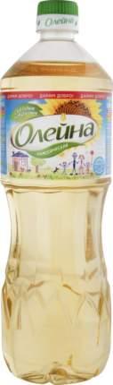 Масло подсолнечное Олейна классическая без запаха 1 л