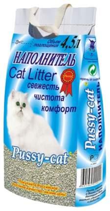 Наполнитель Pussy-Cat впитывающий 4.5 л 2.8 кг