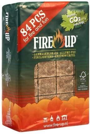 Брикеты для розжига древесные Fire up 3056 84 шт.