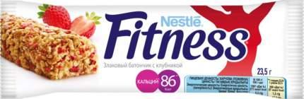Батончик Nestle fitness с цельными злаками и клубникой 23.5 г