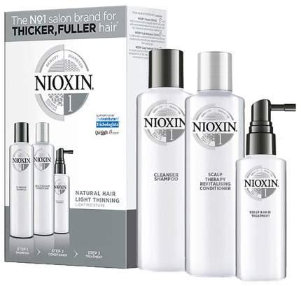 Подарочный набор Nioxin System 1 150 мл+150 мл+50 мл