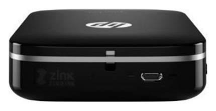 Компактный фотопринтер HP Sprocket Photo Z3Z92A Black