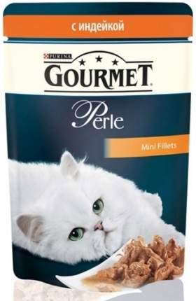 Влажный корм для кошек Gourmet Perle, индейка, 24шт, 85г