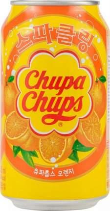 Напиток сильногазированный Chupa Chups апельсин жестяная банка 0.345 л