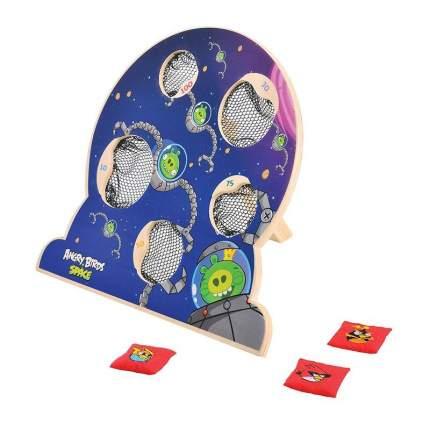 Деревянная игра 1Toy с мишенями Angry Birds Space