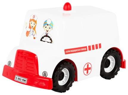 Машинка Совтехстром Автобус Скорая Помощь