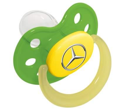 Соска-пустышка Mercedes Soother, Green, артикул B66953249